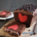 آموزش تهیه کیک قلب مخفی! +عکس