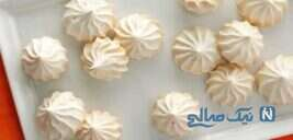 شیرینی پفکی بادامی با دستوری راحت و خوشمزه!