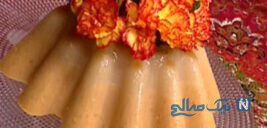 کرم خرمالو، یک دسر آسان پاییزی با طعمی فوق العاده!