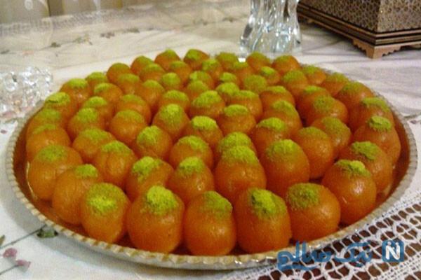 حلوای هویج توپکی بسیار زیبا و متفاوت