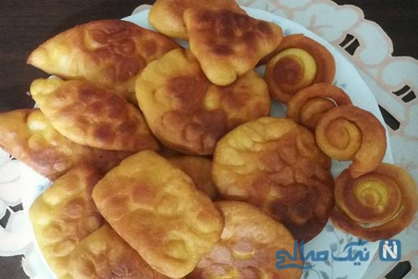 طرزتهیه اگردَک، نان سنتی همدانی ها!