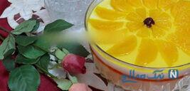 دسر پرتقالی بسیار شکیل و خوش طعم