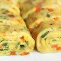 رولت تخم مرغ یک صبحانه شیک و متفاوت!+عکس