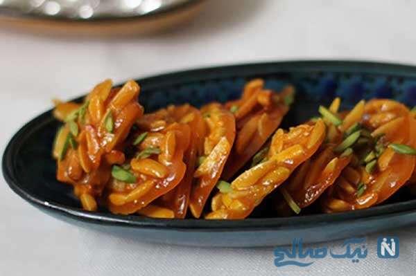 سوهان عسلی خوشمزه مخصوص پذیرایی از مهمانان نوروزی