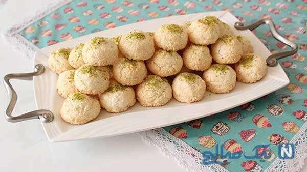 شیرینی های نارگیلی