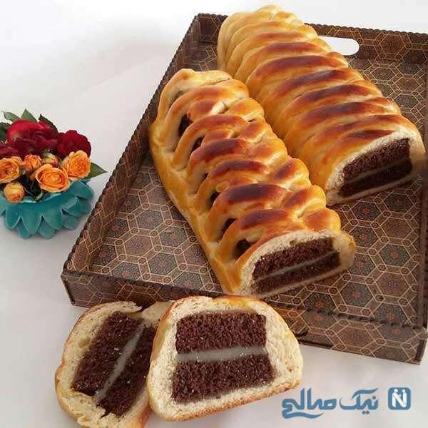 تهیه نان میان پر