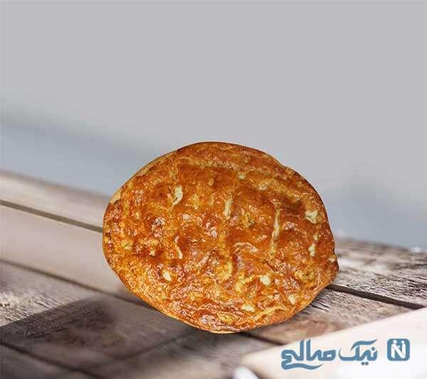 نان گردویی ساده