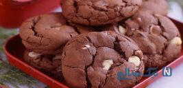 شیرینی خانگی آسان و فوری با طعم کاکائو!