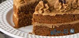 طرزتهیه یک کیک لذیذ با طعم قهوه!