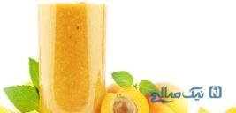 طرز تهیه میلک شیک زردآلو، نوشیدنی لذیذ تابستانی!+عکس