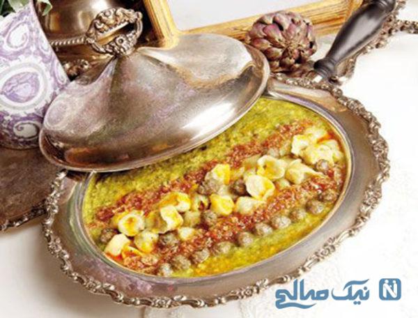طرز تهیه یک آش فوق العاده مخصوص افطار!+عکس