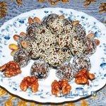 دسرکاکوئی با عطر گلاب، خوشمزه و مقوی مخصوص افطار+عکس