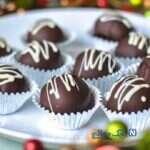 شکلات مغز دارِ خانگی ، دسر لذیذ و بسیار آسان!