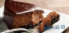 چیزکیک شکلاتی خوشمزه بدون پخت!