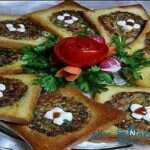 کوکو سبزی مجلسی با نان باگت، زیبا و لذیذ