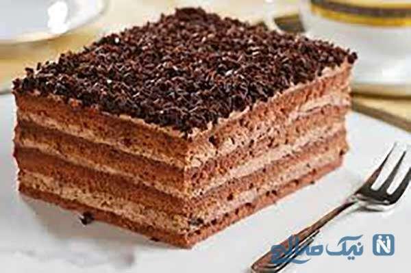 کیک یخچالی قالبی