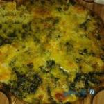 خوراک اسفناج و تخم مرغ لذیذ در فر!+عکس