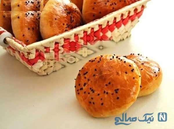 نان کته مغزدار آذربایجانی