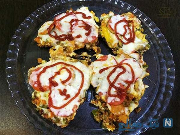 پیتزا تخم مرغی یک پیتزای مقوی و لذیذ!+عکس