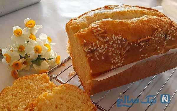 کیک خوشمزه و خوش عطر مخصوص صبحانه!
