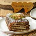 کیک خیس بیسکویتی را چگونه تهیه کنیم؟