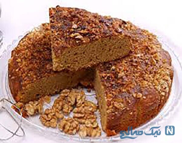 کیک دوشاب بدون شکر