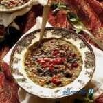 آش انار سنتی و خوشمزه ویژه شب یلدا
