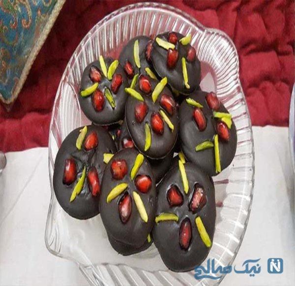 شکلات اناری
