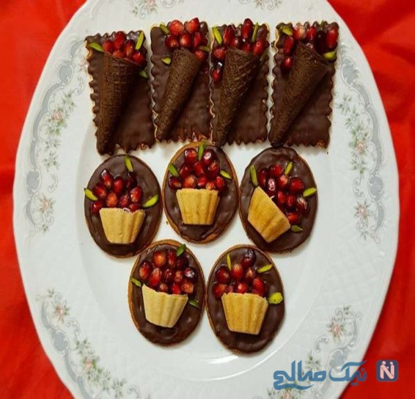 شکلات اناری شیک و لذیذ مخصوص شب یلدا!