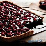 طرز تهیه تارت انار و شکلات ویژه شب یلدا