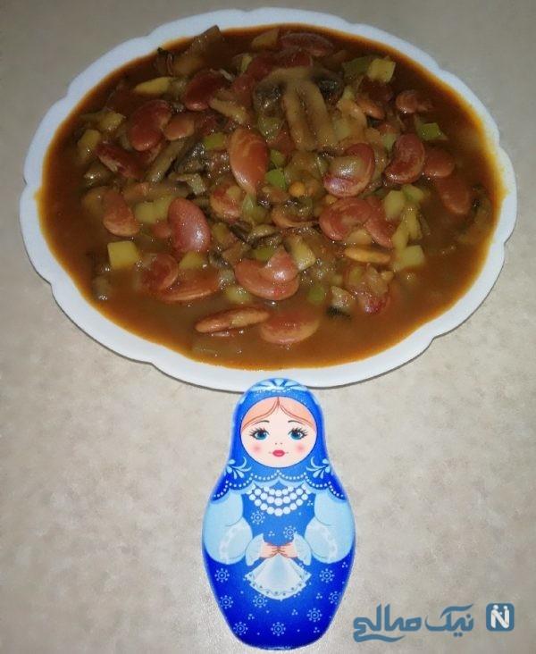 خوراک لوبیا عروس