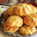 طرز تهیه نان خامه ای خانگی مخصوص شب یلدا