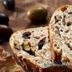 عصرانه ساده و دلپذیر با شیرینی نان زیتونی!