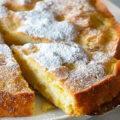 طرز تهیه پای سیب کیکی با طعم بسیار عالی!