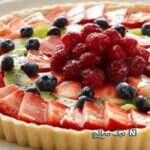 کیک تارت میوه ای مخصوص زمستان!