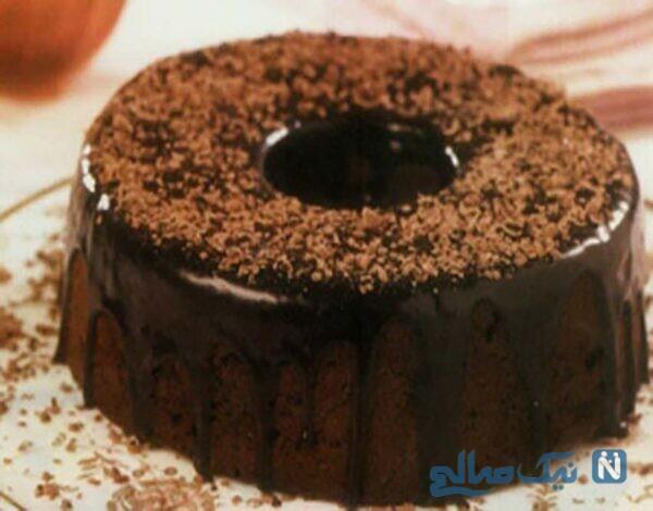 کیک کاکائویی پودینگ دار