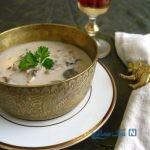 طرز تهیه سوپ قارچ خامه ای ، لذیذترین طعم سوپ! +عکس