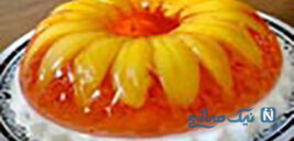 طرز تهیه ژله میوه با خامه