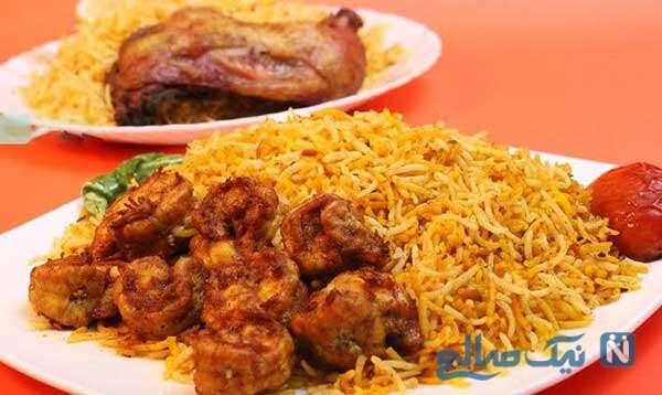 غذای لذیذ و دریایی استامبولی پلو با میگو