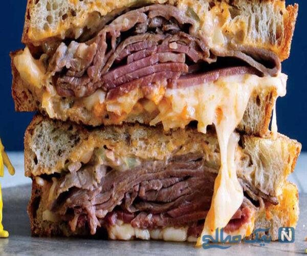 ساندویچ رست بیف
