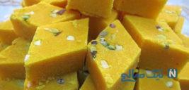 طرز تهیه شیرینی تبریزی معروف به لوز +عکس
