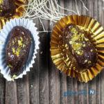 با خرمای مغز دار شکلاتی ها تا افطار پر انرژی بمانید +عکس