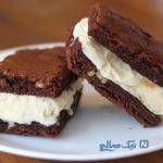 بستنی با نان شکلاتی برای آغاز روزهای گرم +عکس