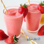 تابستان را با «اسموتی توت فرنگی» آغاز کنید +عکس