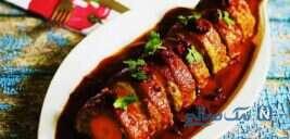 رولت گوشت ، به خوشمزگیِ رولت های رستورانی!