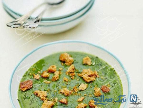 سوپ لذیذ با سبزیجات تابستانی +عکس