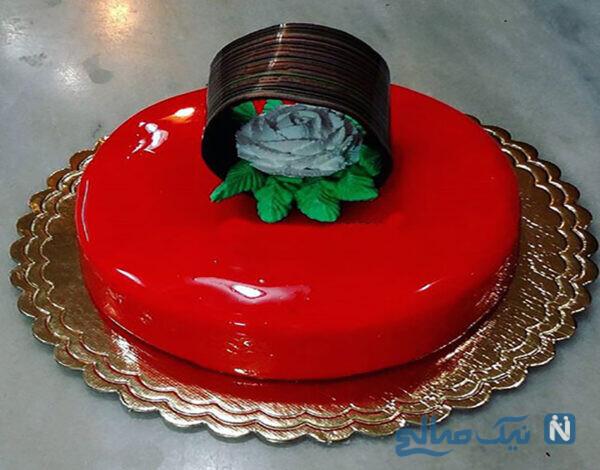 کیک های براق