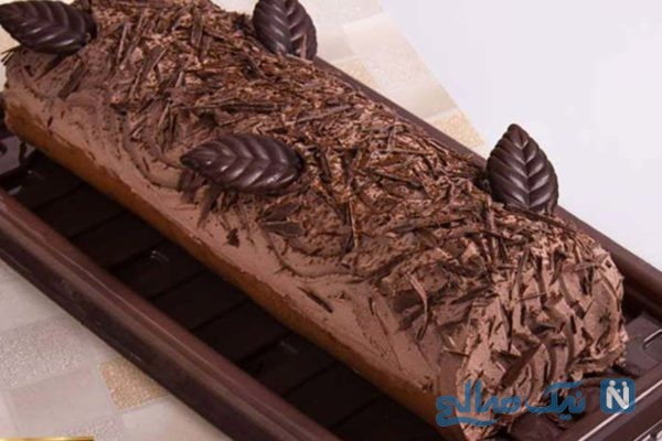 دسر شکلاتی قالبی