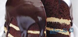 این کیک شکلاتی مغزدار و خوشمزه را بدون فر میشه تهیه کرد