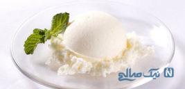 بستنی وانیلیِ خانگی بسیار راحت و ساده +عکس